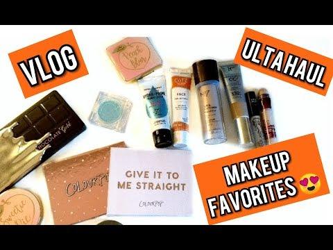 Vlog | Makeup Favorites | Ulta Haul
