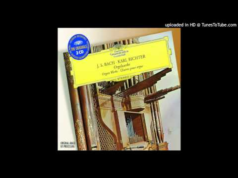 Karl Richter - Organ Works / Prelude & Fugue In C Minor - II. Fugue - BWV 546