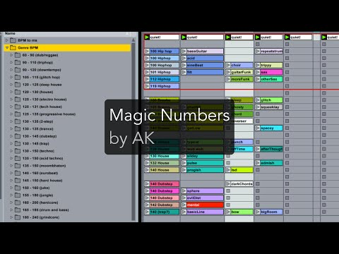 How to Use the Magic Numbers of Music Production by AK