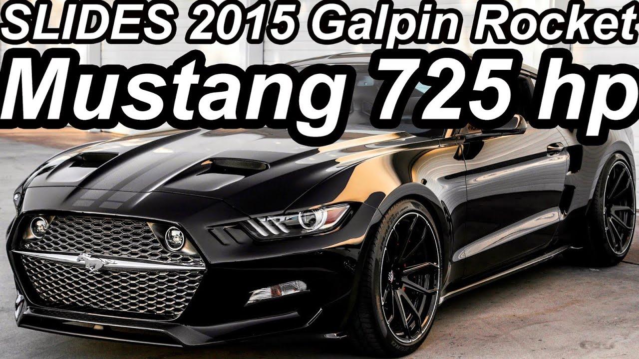 Slides Galpin Rocket Ford Mustang 2015 Aro 21 5 0 V8 Compressor 725