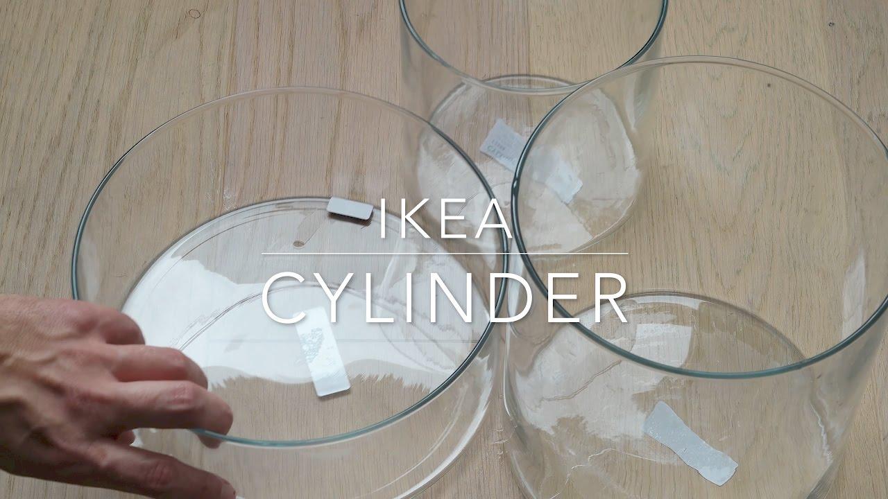 Ikea cylinder vasebowl set of 3 youtube ikea cylinder vasebowl set of 3 reviewsmspy