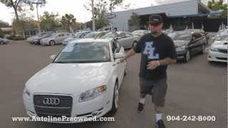 Autoline Preowned 2007 Audi A4 2.0T quattro For Sale Used Walk Around Review Test Drive...
