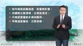 農業氣象1080103