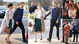 Meghan and Harry touch down in Northern IRELAND in surprise visit streaming