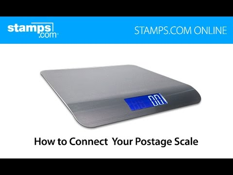 Stamps com Online - How to Connect Your Postage Scale
