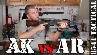 AK47 Versus AR15 - What's Best For You?