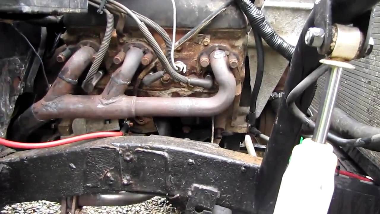 maxresdefault chevy 4 3 v6 samurai starting after engine swap youtube  at nearapp.co