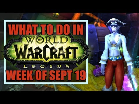 Pirate's Day, Brewfest, & DUNKING | What's New in WoW: Week of September 19th, 2017