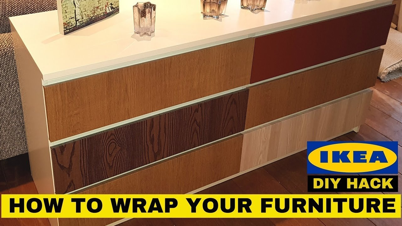 Customize Your Ikea Furniture Diy Hack With Vinyl Wrap