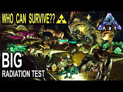 ☢️ARK RADIATION TEST! WHICH CREATURE...