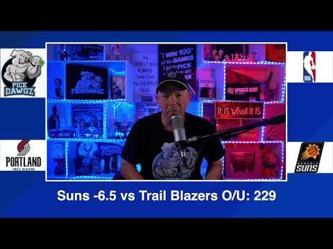 Phoenix Suns vs Portland Trail Blazers 2/22/21 Free NBA Pick and Prediction NBA Betting Tips