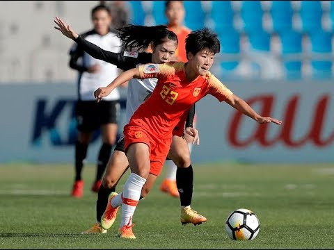 China 4-0 Thailand (AFC Women's Asian Cup 2018: Group Stage)