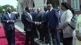 Guinée equatoriale, Le président Obiang en visite en Angola