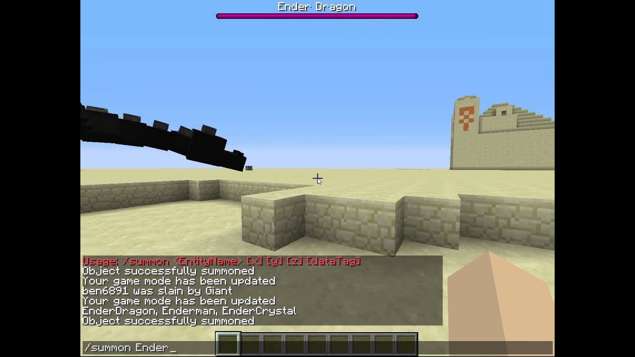 Cheat minecraft dragon