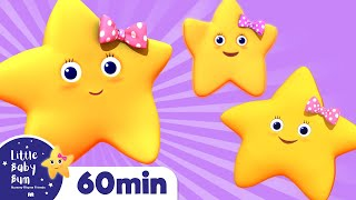 Twinkle Twinkle Little Star | Part 2 | Plus Lots More Nursery Rhymes | 60 Mins From LittleBabyBum! thumbnail