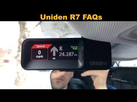 Uniden R7 FAQs - YouTube