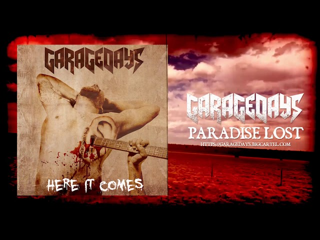 GARAGEDAYS - Paradise Lost official lyric video