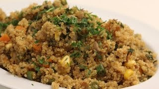 Quinoa and Mixed Vegetable Pulao | Sanjeev Kapoor Khazana