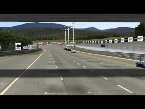rfactor Red Bull X1 vs Thrust SSC @ High Speed Ring