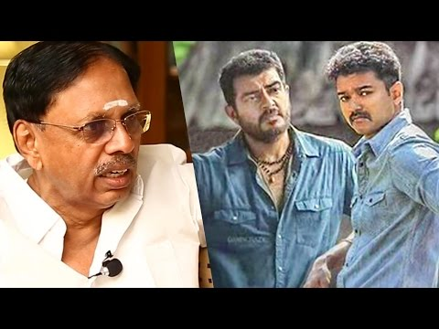 """""""Vijay not accepted by people in negative role."""" - T Subramaniam on trade secrets of cinema 