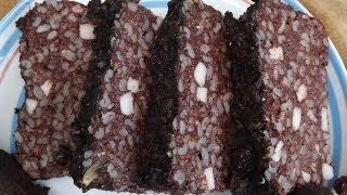 How To Make Black Pudding.Blood Sausage.
