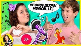 ¡¡Recopilación de mis MEJORES Musical.lys!! 🎤 Celebrando los 200,000 fans en MUSICAL.LY 💃🏻 thumbnail