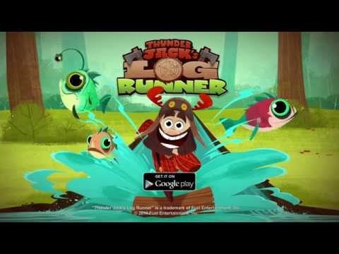 Thunder Jack's Log Runner for Android - Trailer