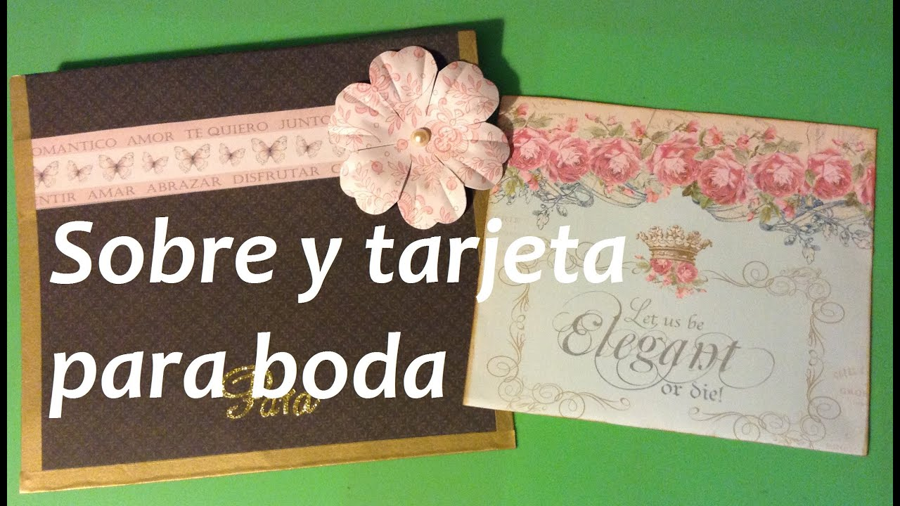 tutorial scrap hacer una tarjeta para boda scrap tutorial make a card for wedding