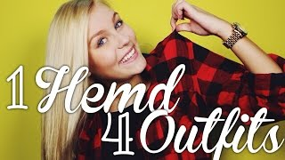 1 HEMD - 4 OUTFITS  ♡ | Dagi Bee