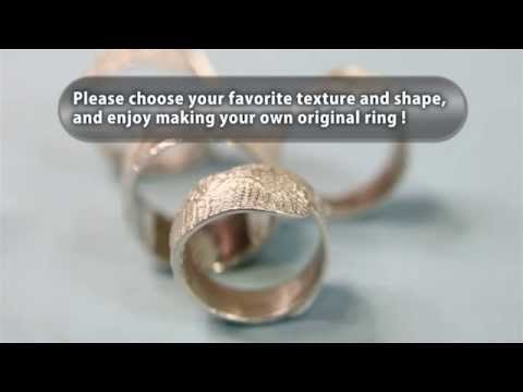 Make a texture ring with PMC Flex