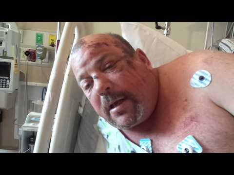 Daytona Beach Homeless Struck by Van speaking from hospital bed