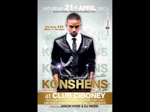 Konshens - Gal A Bubble ( Hot Party Remix) By J-Wins