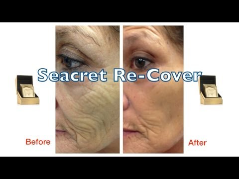 Seacret Re-Cover Before And After WOW Effect!