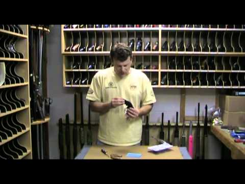 Installing a Hogue Bantam grip on a S&W K/L frame revolver