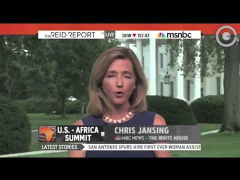 Oops! MSNBC's  Chris Jansing Says Obama Is from Kenya
