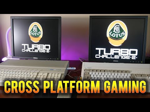 Cross Platform Network Gaming with the  Commodore Amiga and Atari ST using Serial Link up