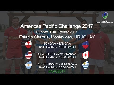 World Rugby Americas Pacific Challenge 2017 - Argentina XV v U...