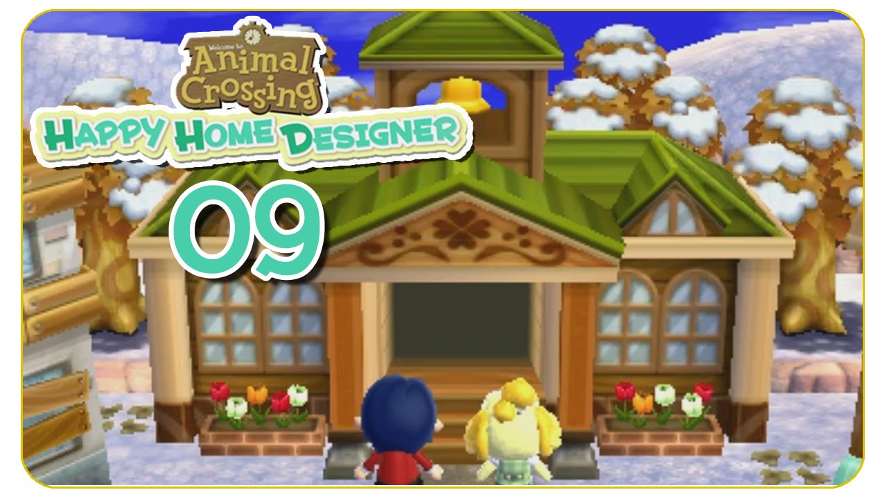 Animal crossing happy home designer trailer deutsch review home decor for Animal crossing happy home designer hotel