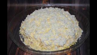 """Безумно вкусный и нарядный салат """" НЕВЕСТА """" / Salad / Салат с копченой курицей на праздничный стол!"""