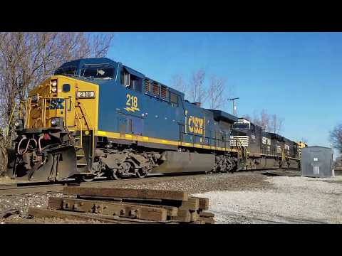 Trains At Milford Junction, Indiana! 2017-2019
