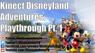 Kinect Disneyland Adventures: Play through Pt  1