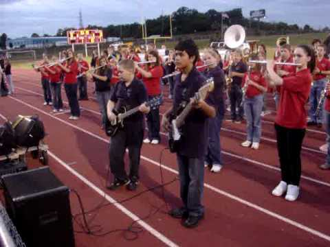 La Bamba FMS and RMS bands a Fox Football Game