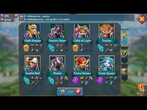 Lords Mobile: Chatting With Guildmates