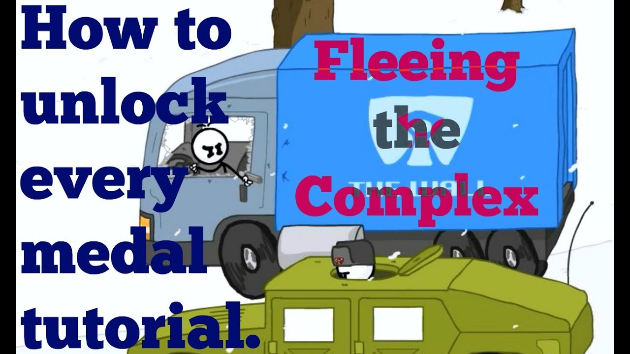 Fleeing The Complex Medal Walkthrough How To Unlock Every Single