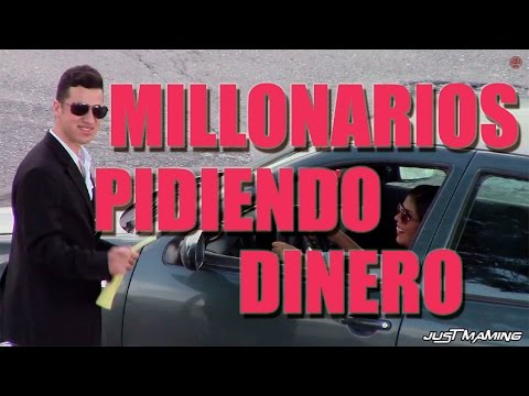 Millionaires asking for money in public | Public Pranks from YouTube · Duration:  6 minutes 48 seconds