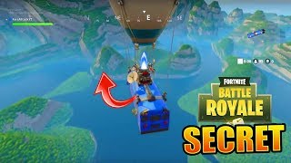 Fortnite Battle Royale EPIC SECRET - ¿Que pasa T-IL si en reposo en el bus? 😱