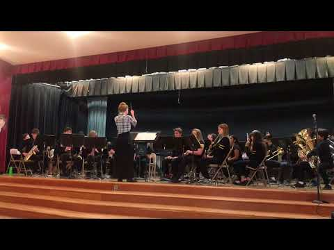 """Doolen Middle School - Honors Band plays """"How to Train Your Dragon"""""""