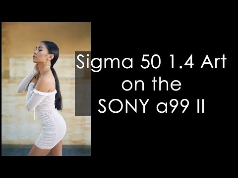 Sigma 50 1.4 Art on the SONY a99 II feat. Guam Model Rochelle Roman