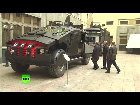 RT - Russia Security Service Special Operations Armoured Vehicles [1080p]