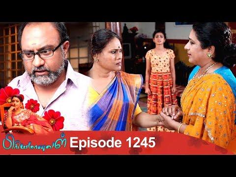 Priyamanaval Episode 1245, 18/02/19